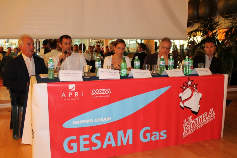 Conferenza stampa Le Mura - Gesam Gas