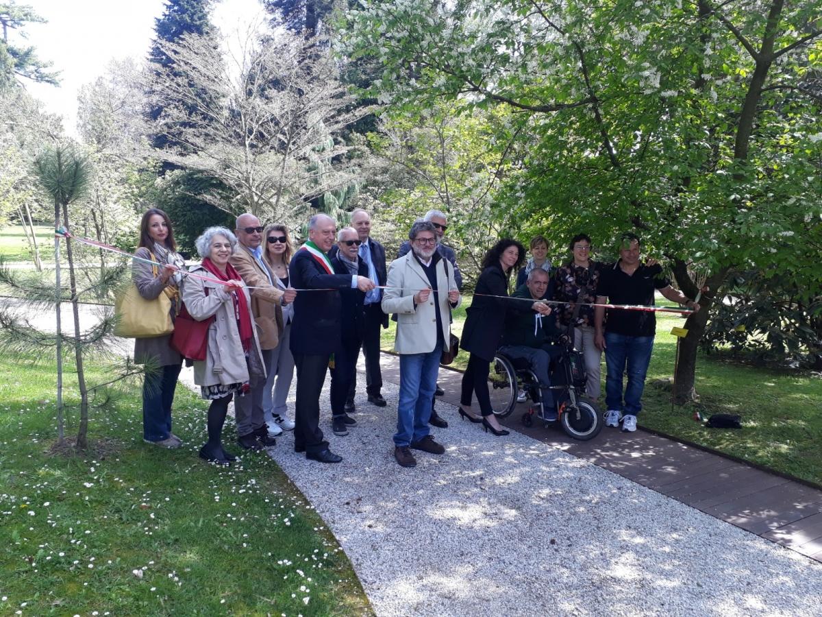 inaugurazione percorso accessibile Orto Botanico