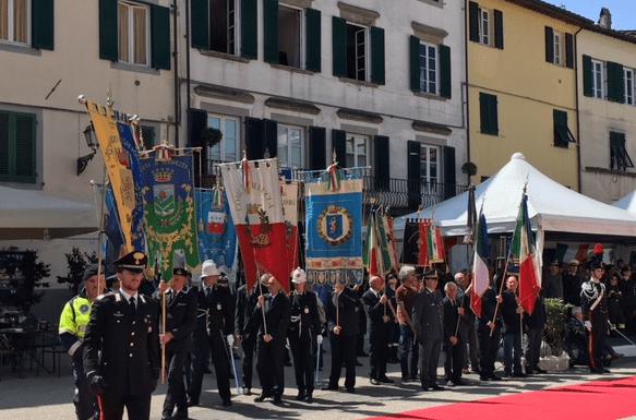 Festa liberazione a Lucca