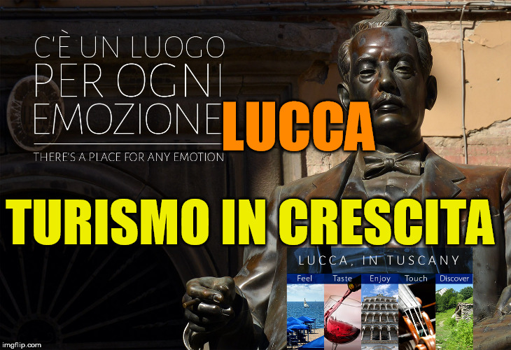 Turismo in crescita a Lucca