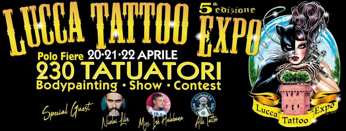 Lucca Tattoo Expò 2018