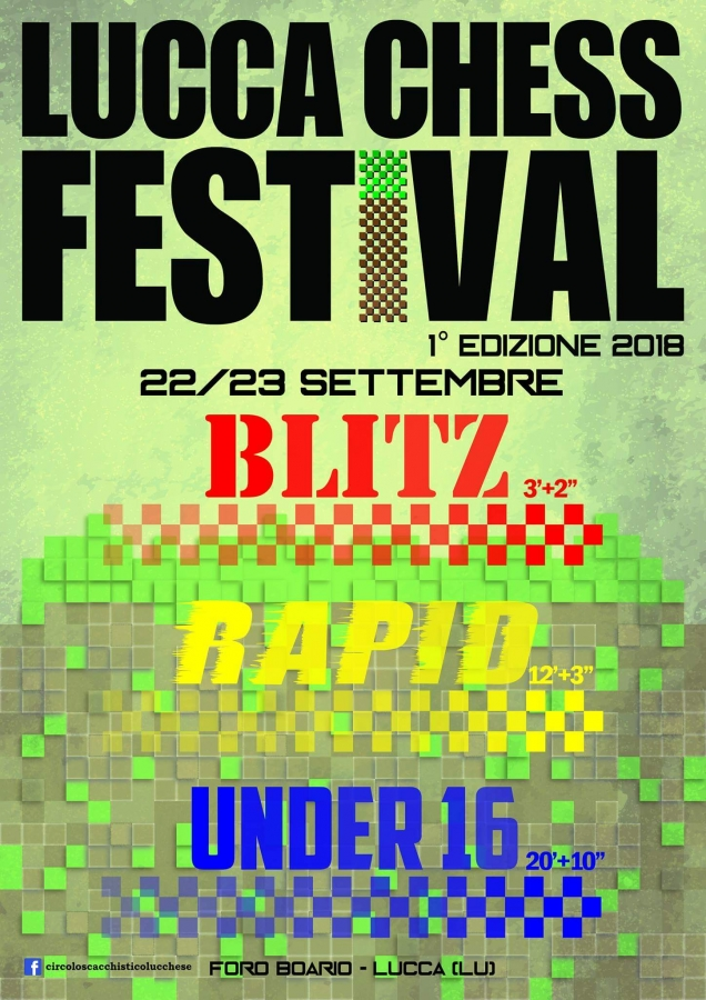 1º Lucca Chess Fest