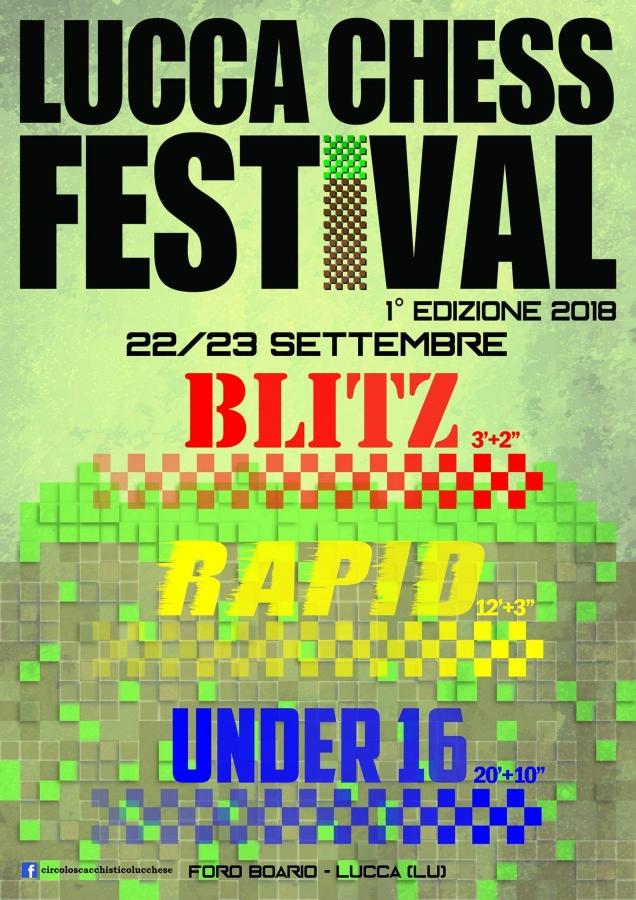1º Lucca Chess Fest