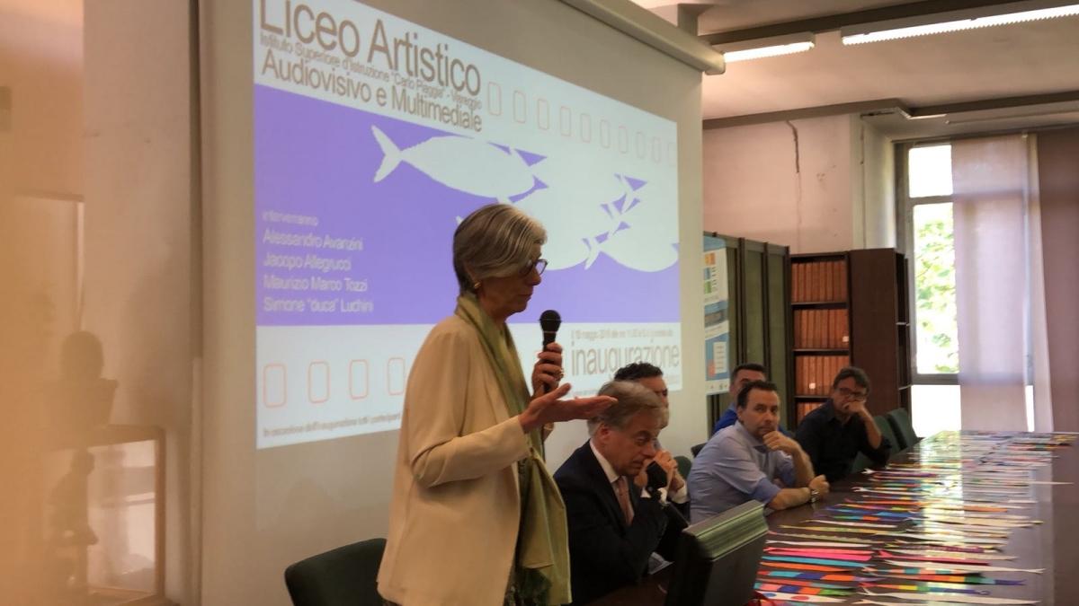Inaugurazione liceo Artistico audiovisivo