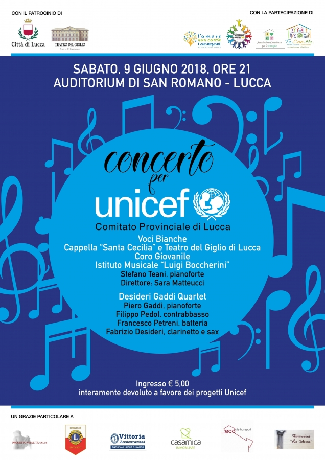 concerto per unicef