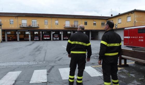 vigili del fuoco Lucca