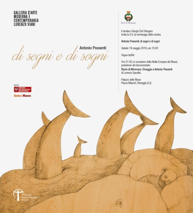 vernissage della mostra Antonio Possenti