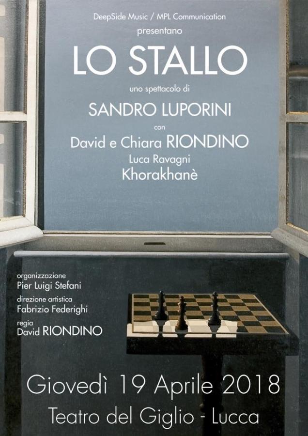 Lo stallo di Sandro Luporini