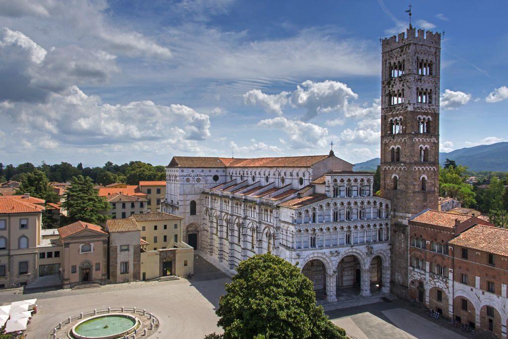 Piazza San Martino dall'alto