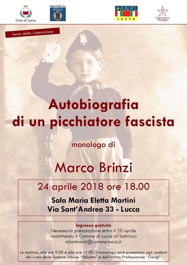 Locandina Marco Brinzi