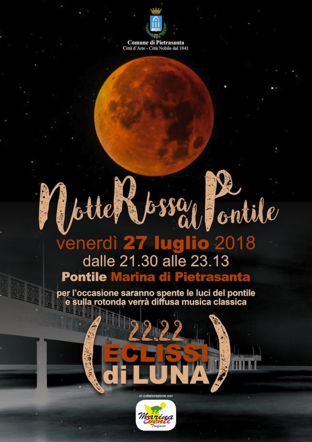 Pietrasanta il Tonfano eclissi, locandina