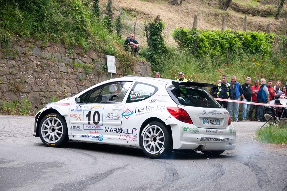 Pierotti e Milli nella Peugeot