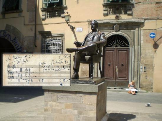 Statua Puccini
