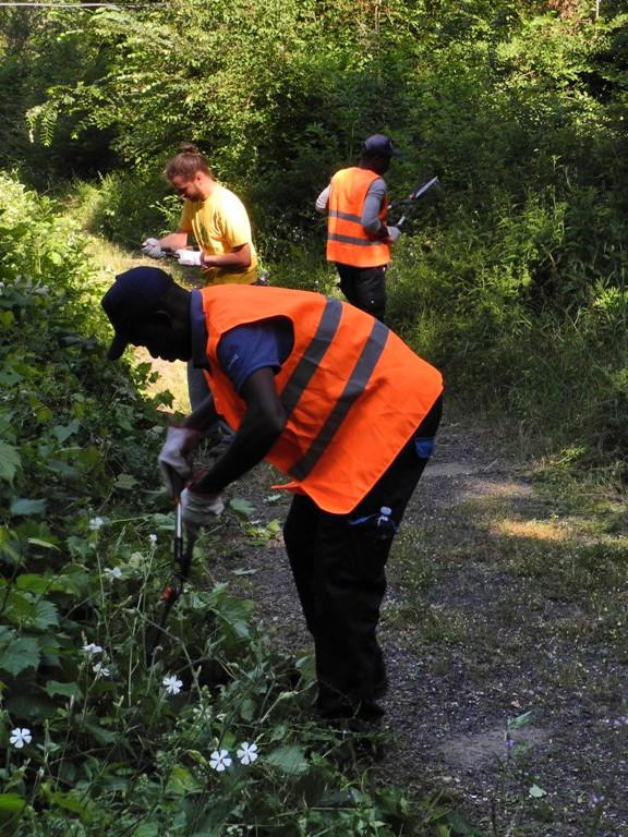 pulizia oasi migranti